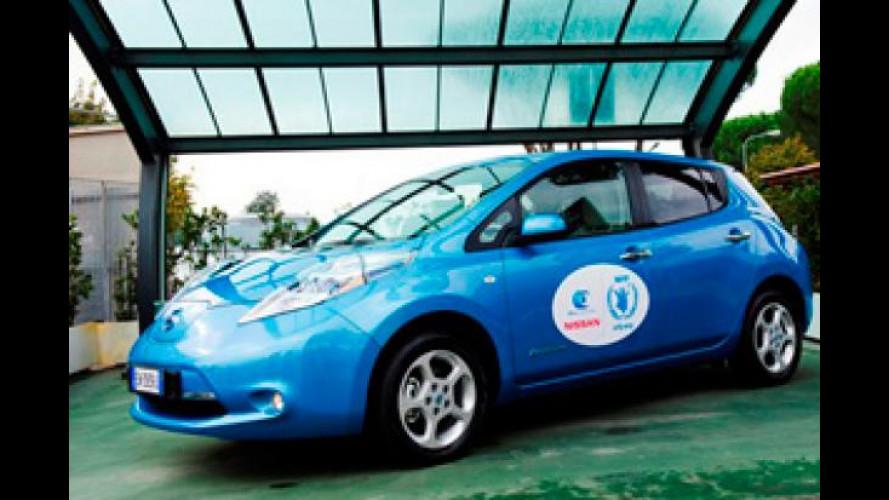 Nissan insieme al WFP per la sicurezza stradale