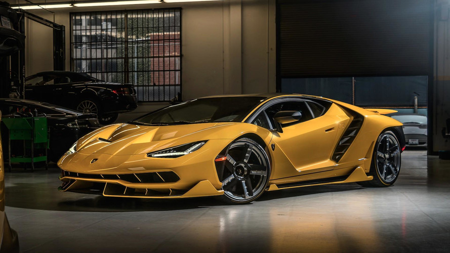 Two New Lamborghini Centenarios Have Landed In The U.S.