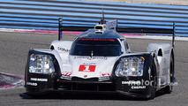 Spyshot of the Porsche 919 Hybrid