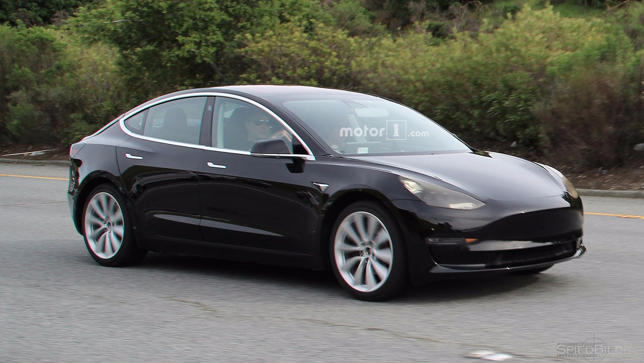 Gallery Tesla Model 3 Spy Photos