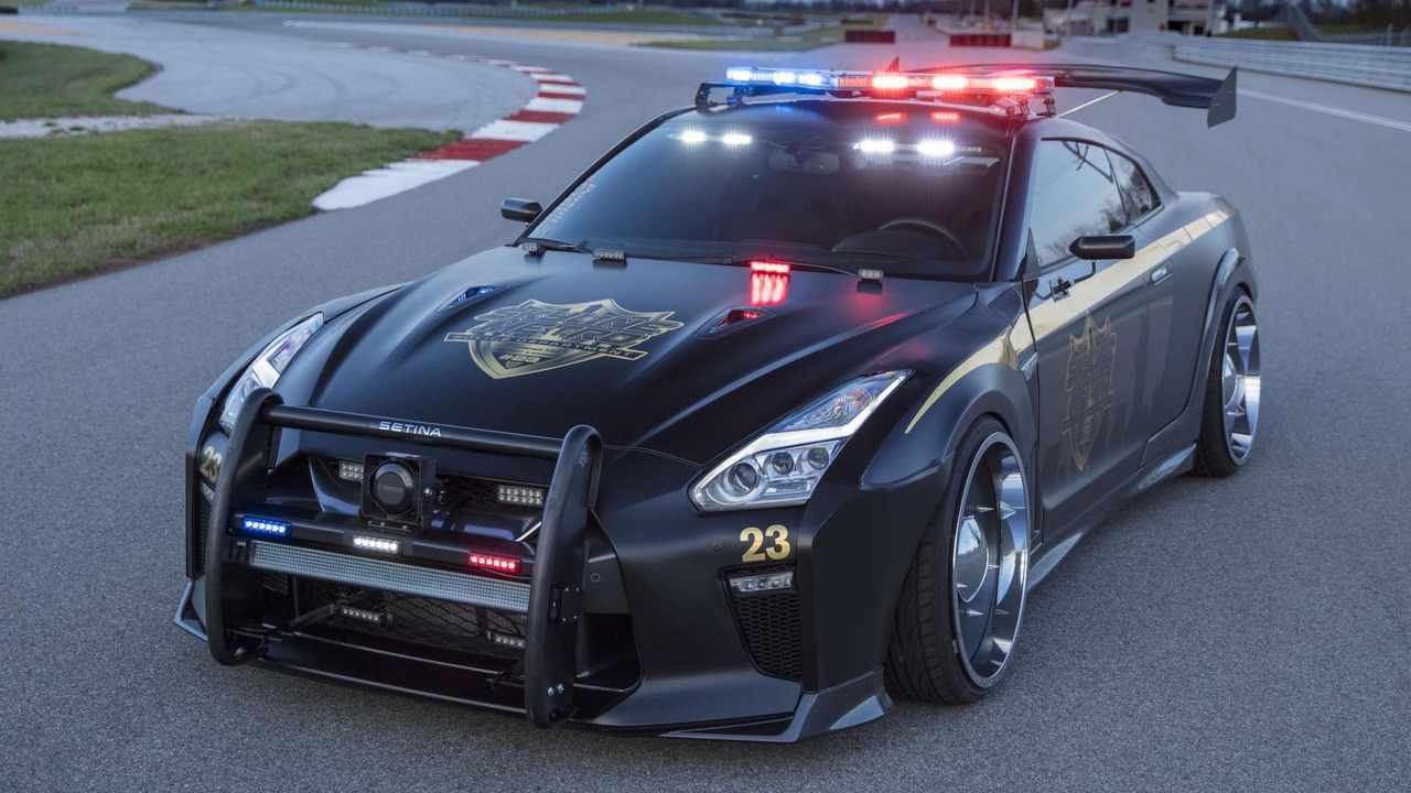 Gallery Nissan Gt R Police Pursuit 23