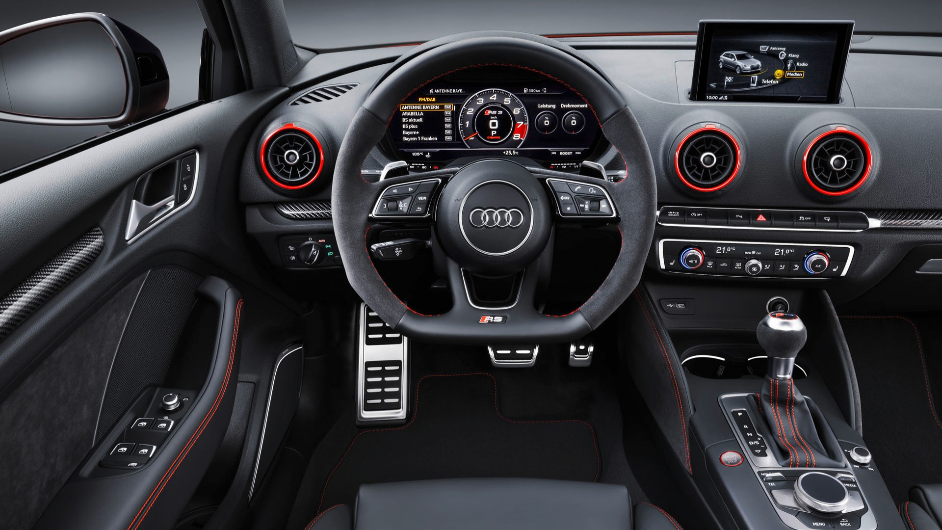 Audi Rs3 Makes U S Debut In New York With 54 500 Base Price