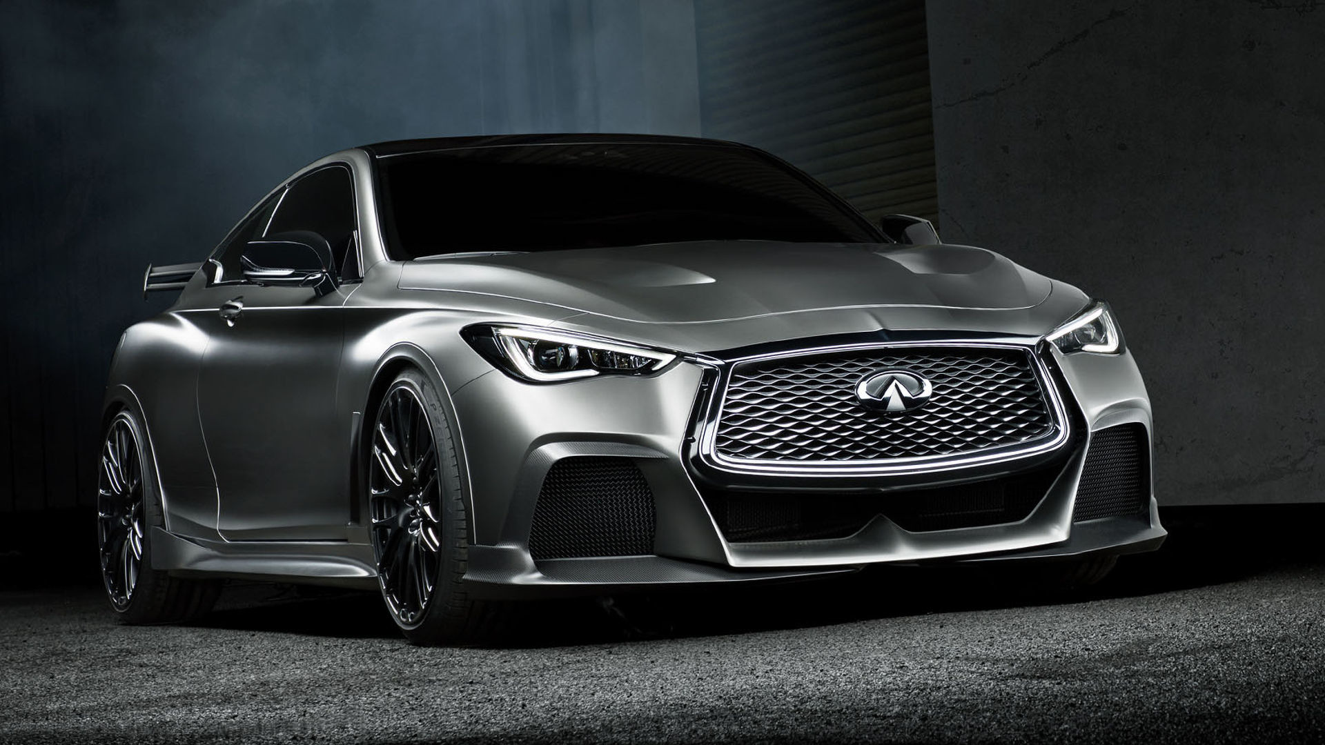 מגניב 500-Hp Infiniti Q60 Black S Road-Ready Concept May Debut In Paris UB-21