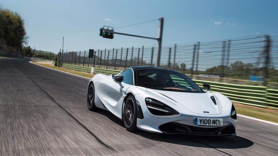 McLaren 720S'in 0-100 km/s hızlanmasını izleyin