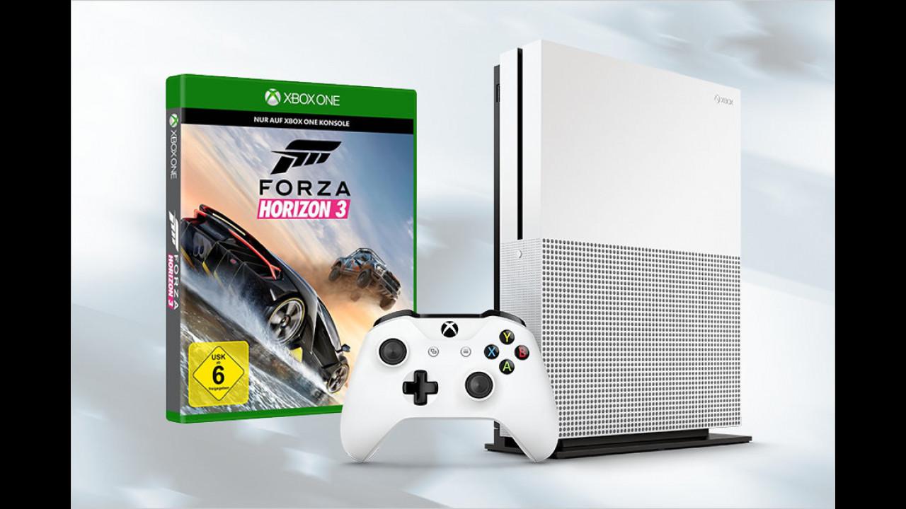 Xbox One S mit Forza Horizon 3