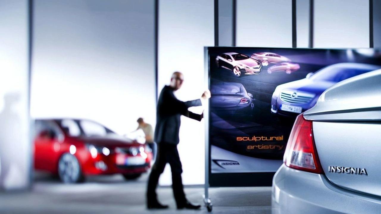 2010 Vauxhall Astra teaser sketch
