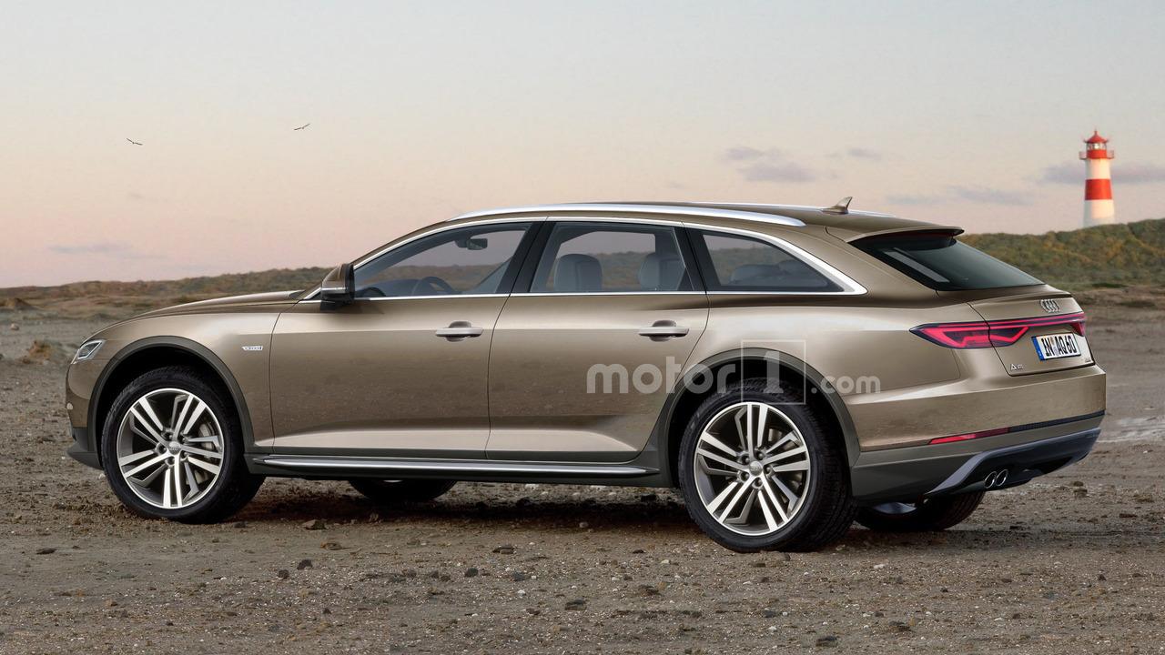 2018 Audi A6 Allroad Rendering
