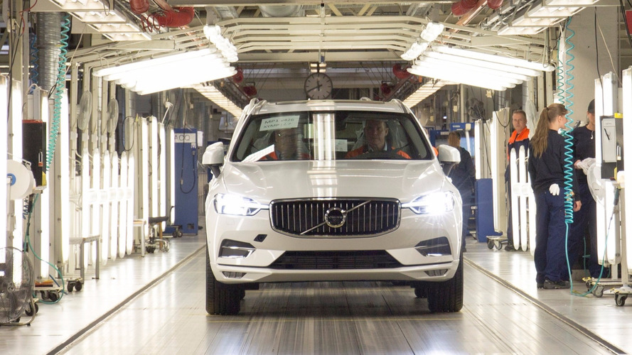 Le premier Volvo XC60 est sorti de production