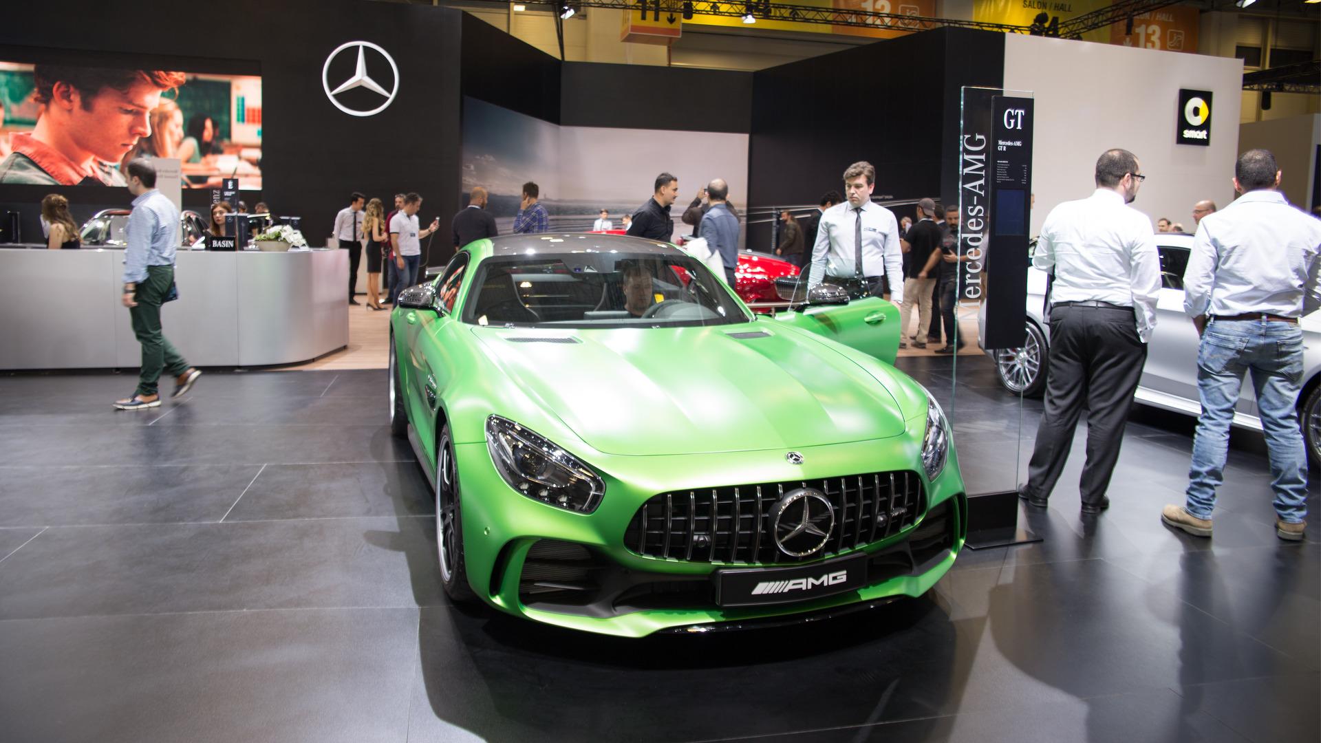 Mercedes-AMG GT R İstanbul Autoshow'da