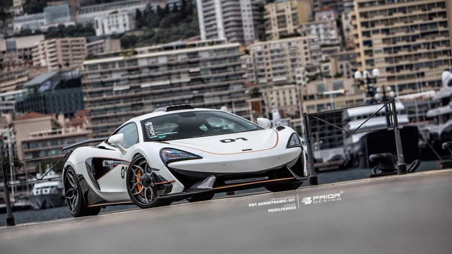 McLaren 570S Looks Race Ready In New Body Kit