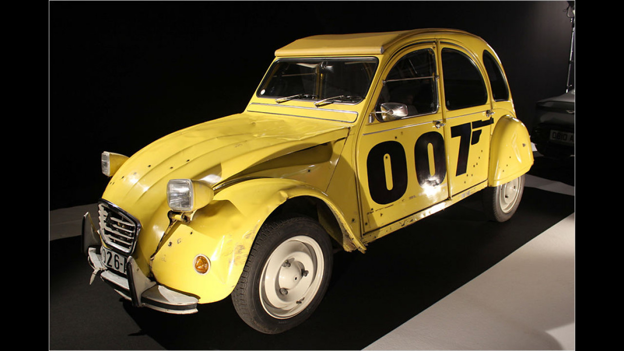 Citroën 2CV: James Bond 007 - In tödlicher Mission (1981)