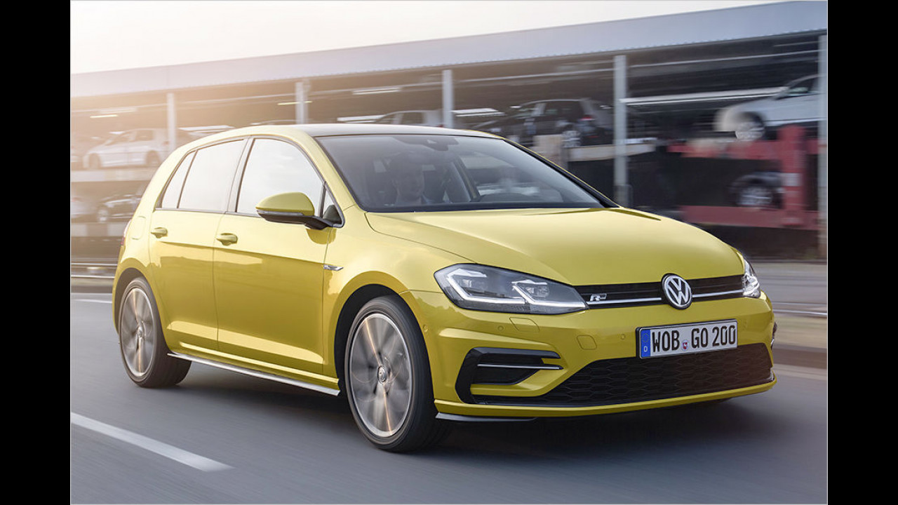 Platz eins: VW Golf