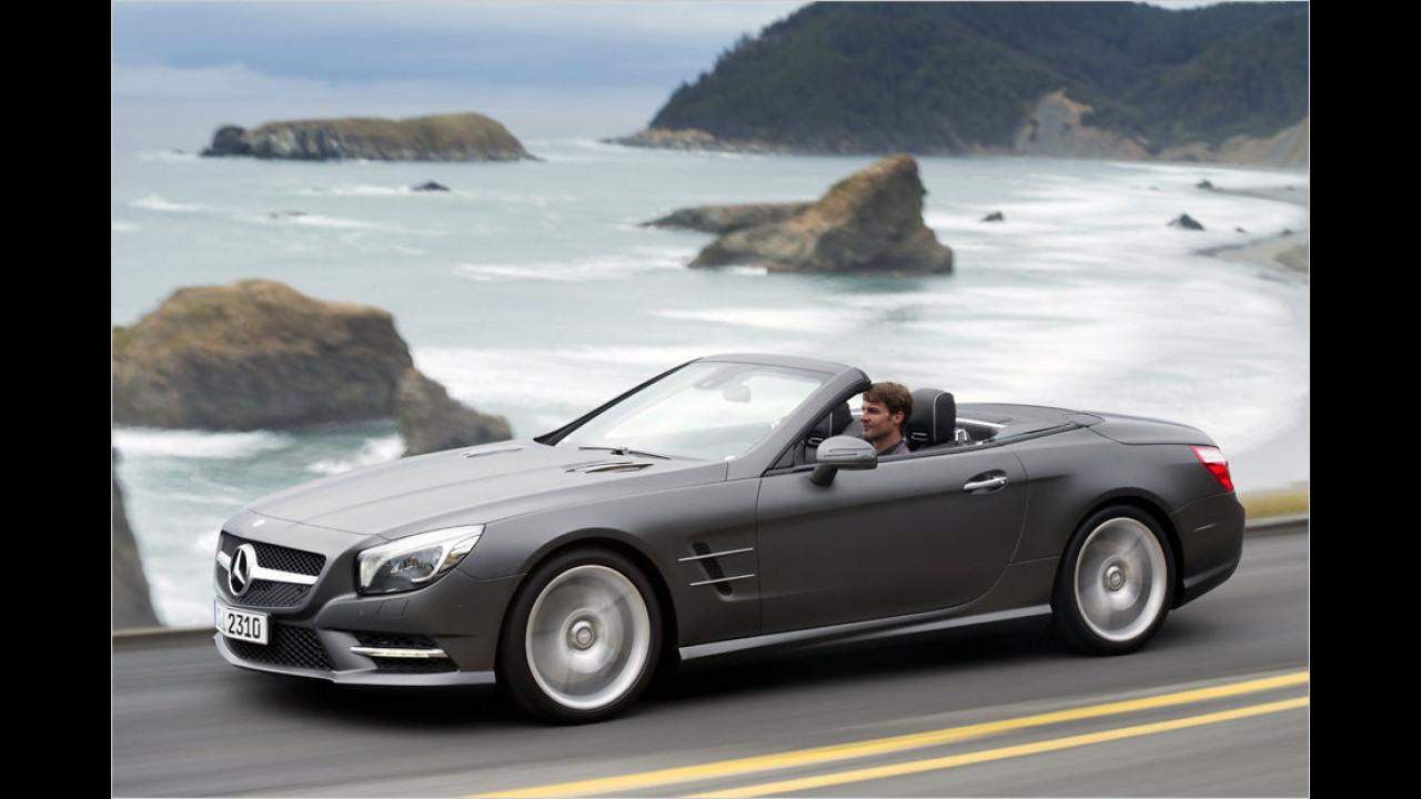 Platz vier: Mercedes SL