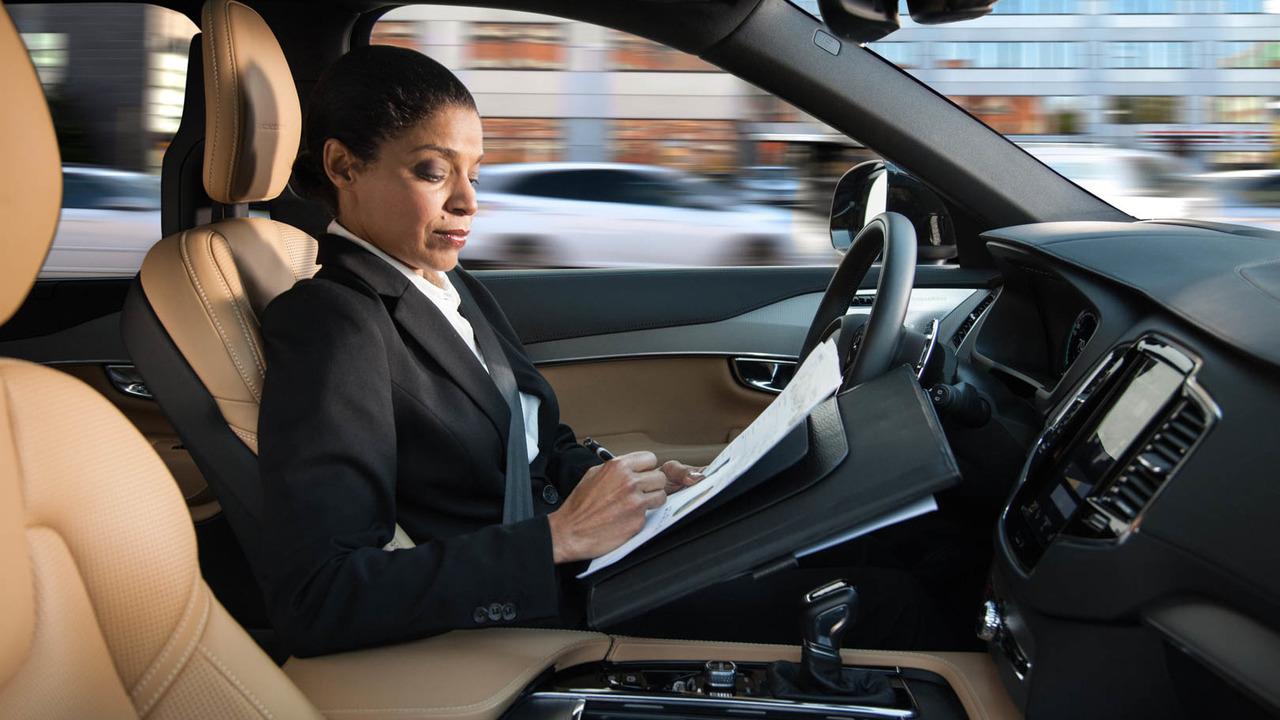 Volvo's autonomous cars