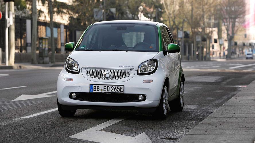 smart será una marca 100% eléctrica a partir de 2020