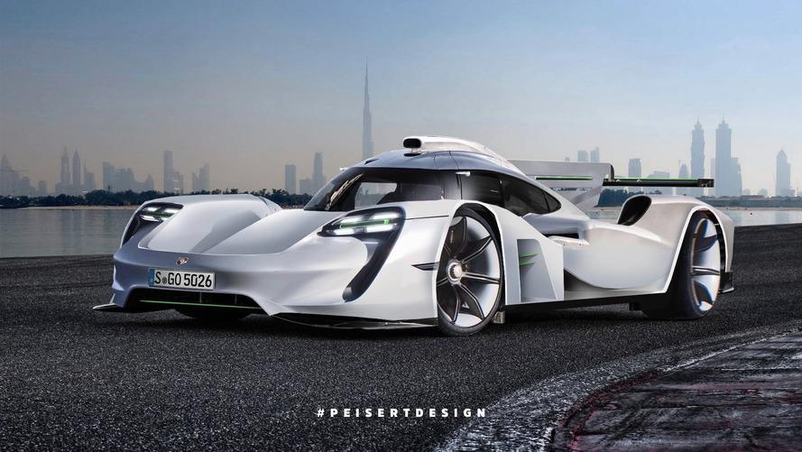 Porsche 919 Hybrid, GT1'in halefine dönüştürüldü