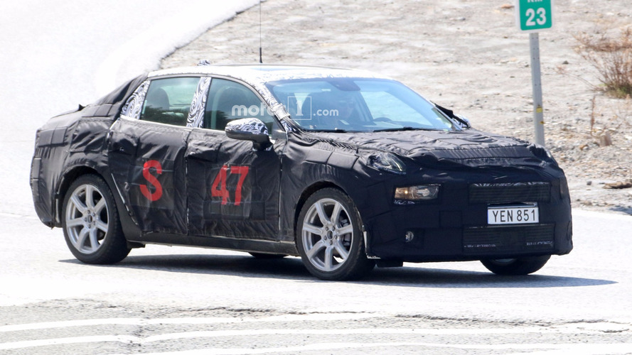 2018 Lynk & Co 02 Saloon Makes Spy Photo Debut