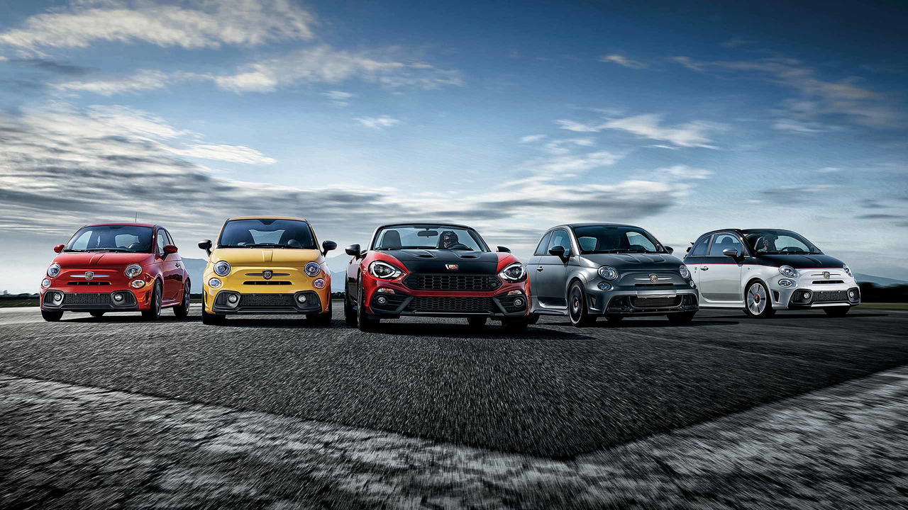 Abarth used car range