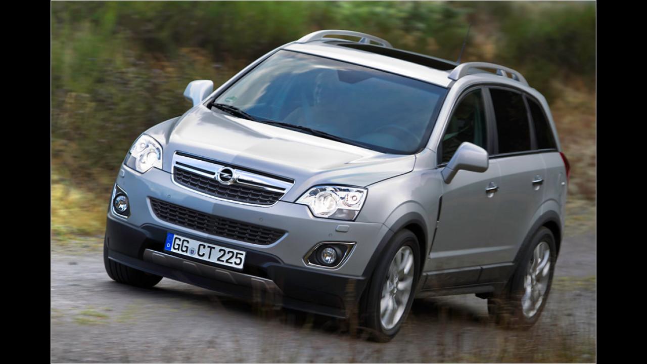 Flop: Opel Antara