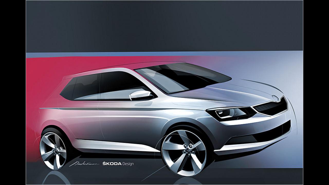 Skoda Fabia 2014 mit neuen Motoren