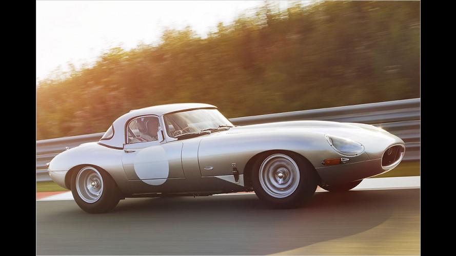 """Enthüllung des """"neuen"""" Jaguar Lightweight E-Type"""