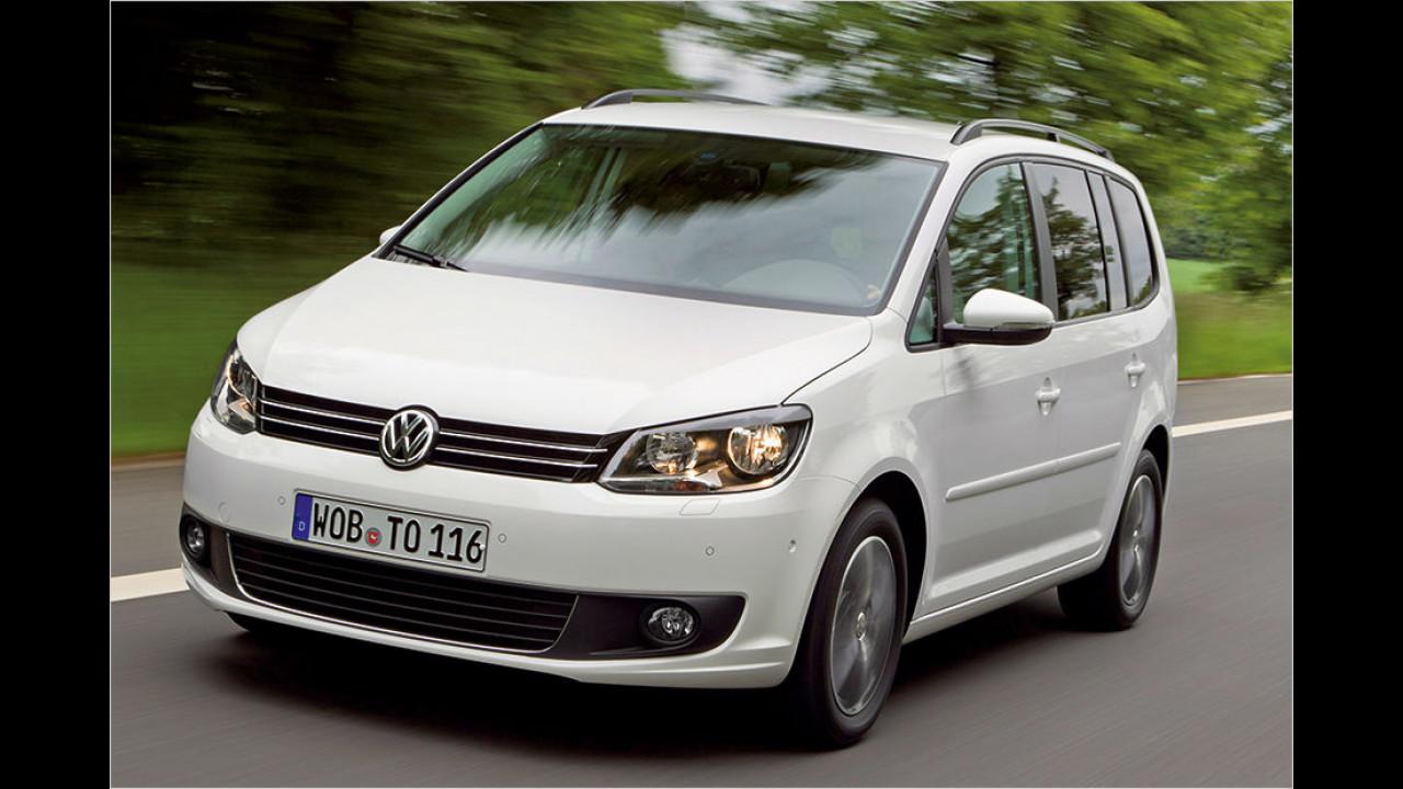 VW Touran 1.2 TSI Trendline (105 PS): 25,8 Prozent