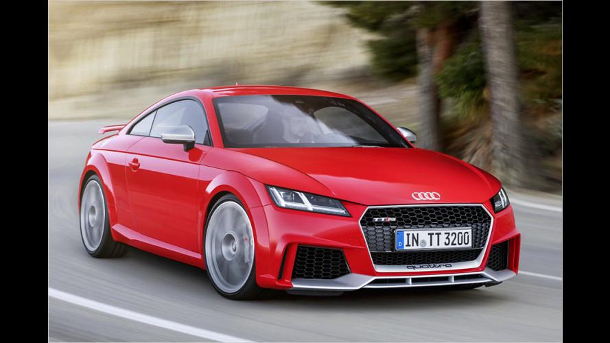 Audi zeigt neuen TT RS und TT RS Roadster (2016)