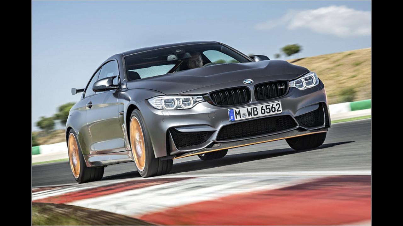 BMW: Das Topmodell ist der M4 GTS