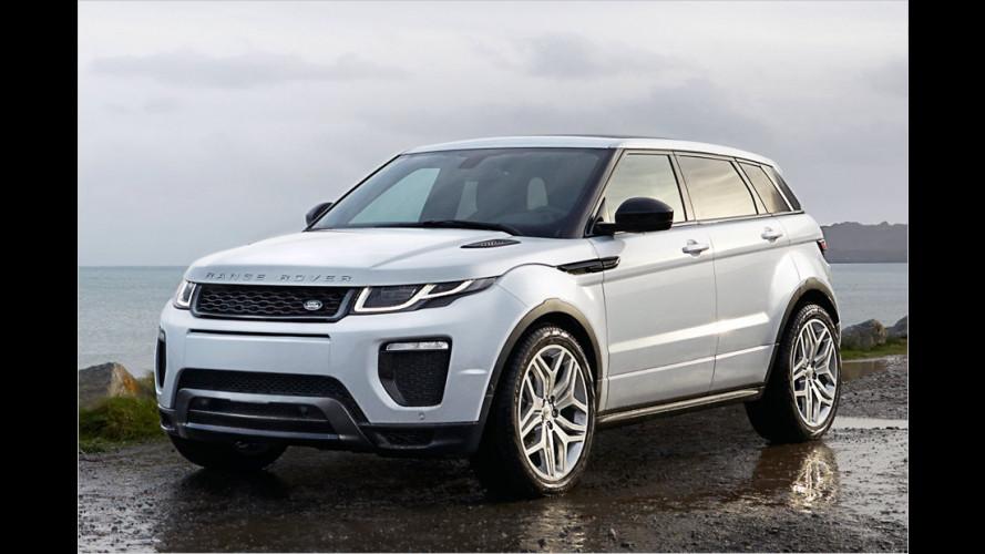 Der Range Rover Evoque bekommt ein Lifting