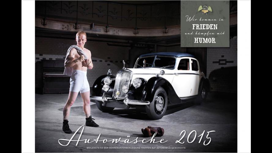 Autowäsche Kalender 2015: Total abgefahren