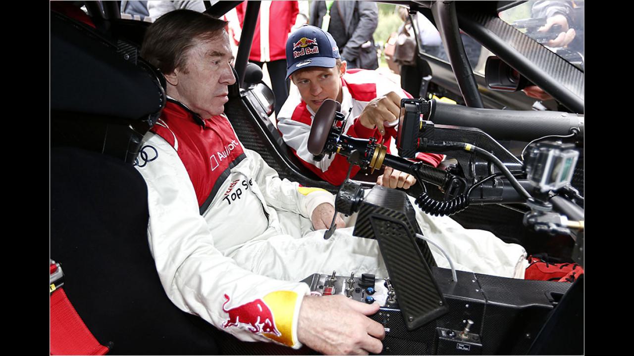 Günter Netzer: Audi A5 DTM