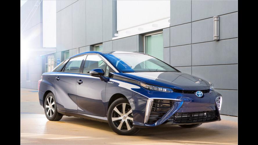 Toyota Mirai: Leasing-Konditionen bekannt gegeben (2015)