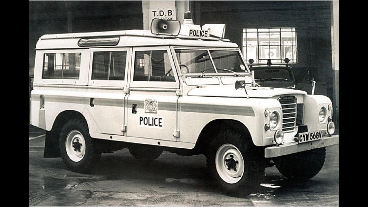 Land Rover Series III 109'' Polizeifahrzeug