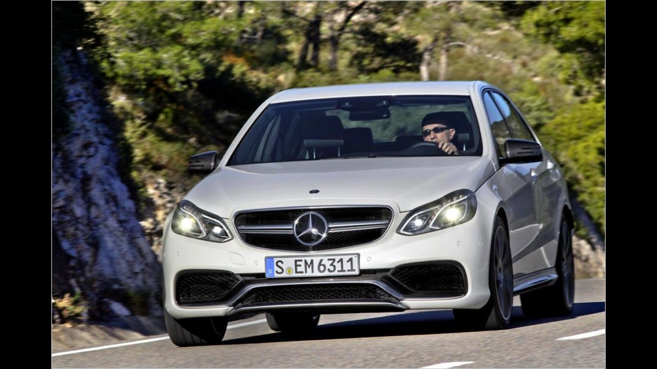 Mercedes E 63 AMG S