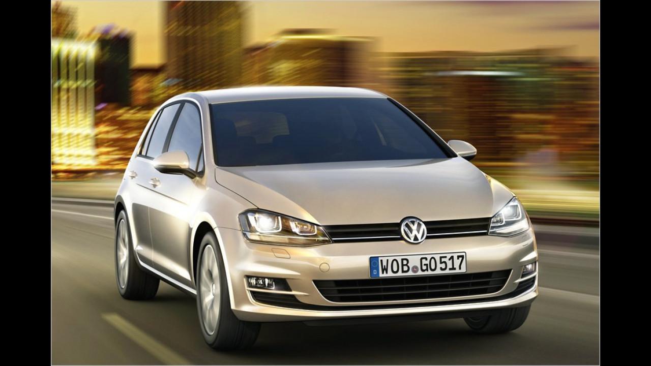 Abmessungen: VW Golf