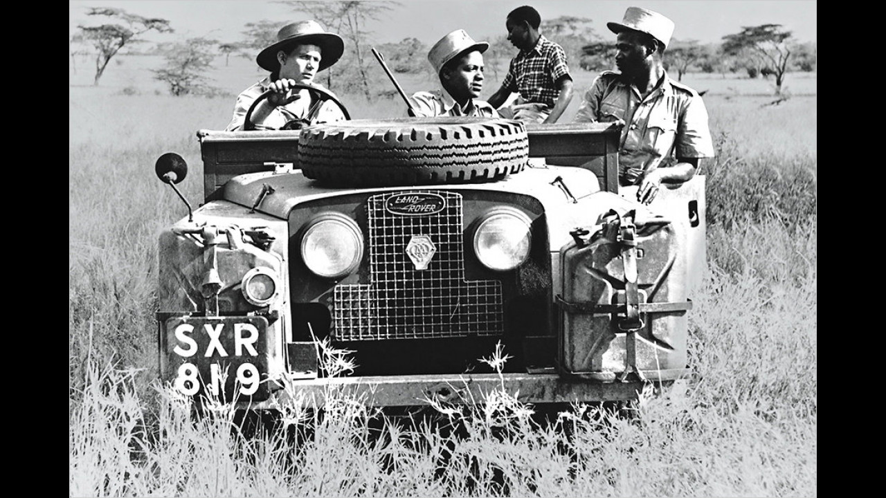 Land Rover Series II (1958 bis 1971)