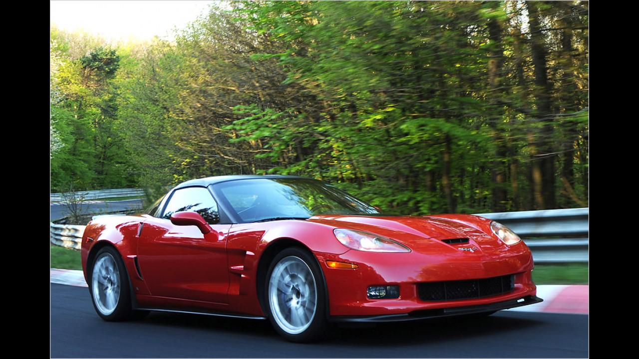 Corvette ZR1: 330 km/h