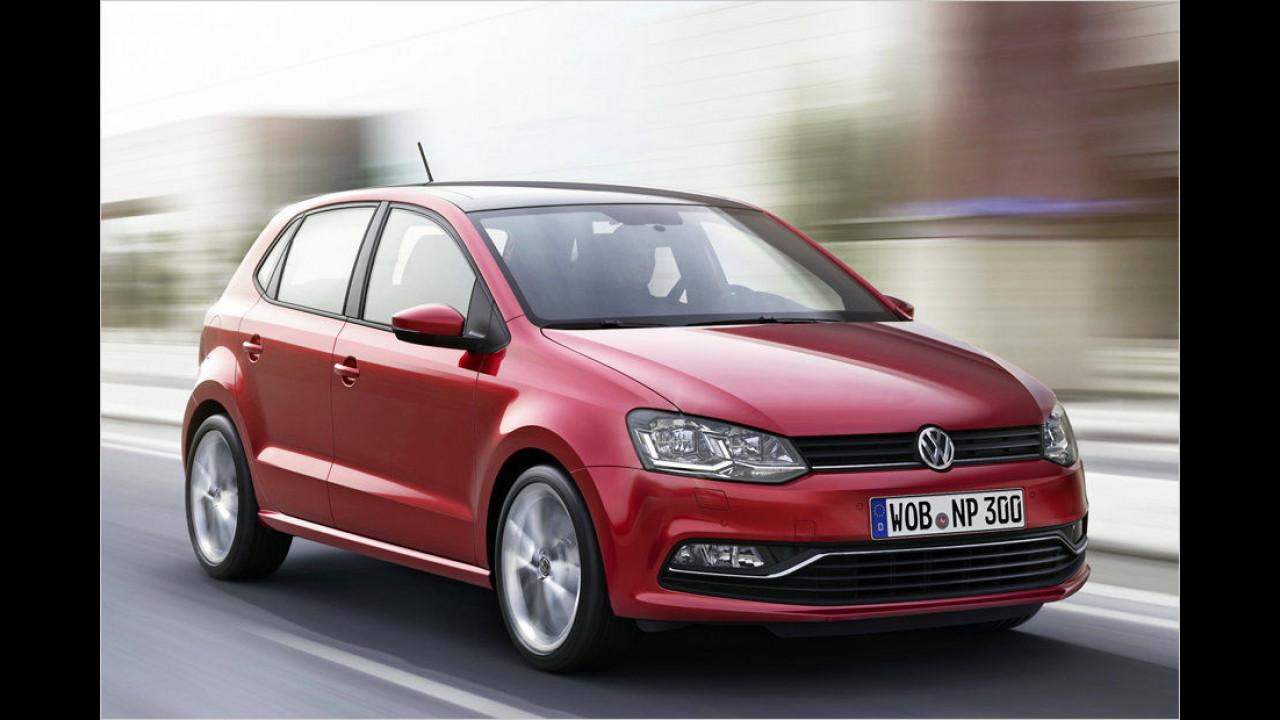 Kleinwagen, Platz 1: VW Polo (35.255 Stück)