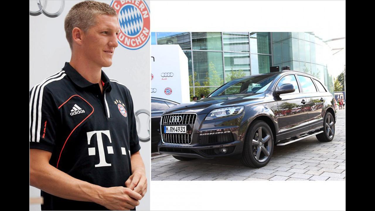 Bastian Schweinsteiger: Audi Q7