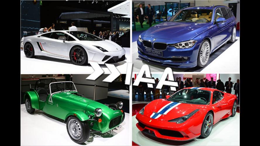 IAA 2013: Die Sportwagen