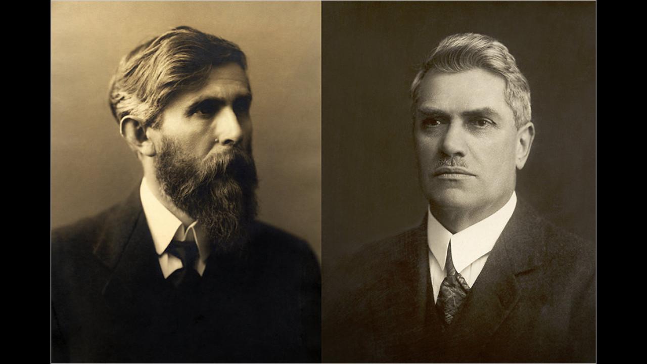 1895: Laurin und Klement starten mit einer Fahrradwerkstatt