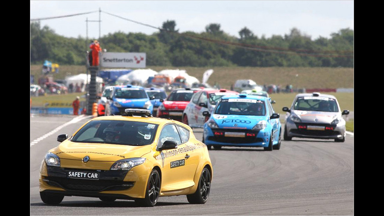 Renault Clio Cup: Renault Megane R.S.