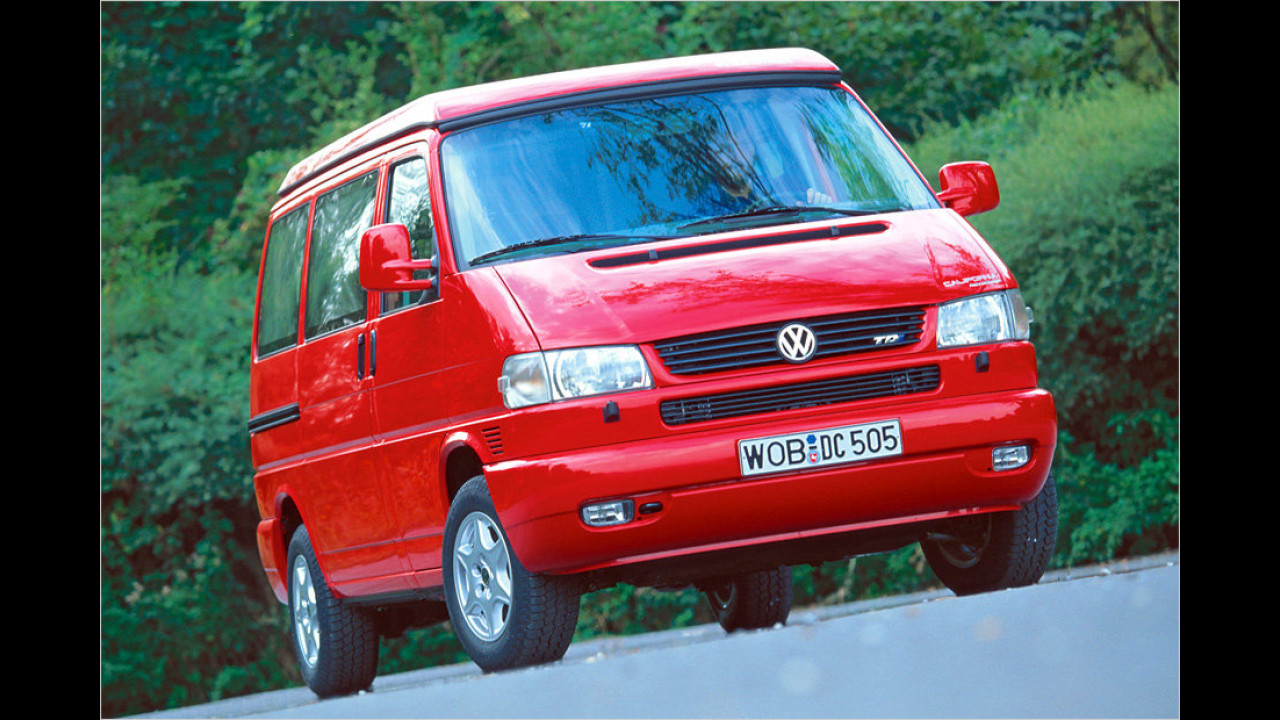 Platz 14: VW T5 Multivan California 2.5 TD