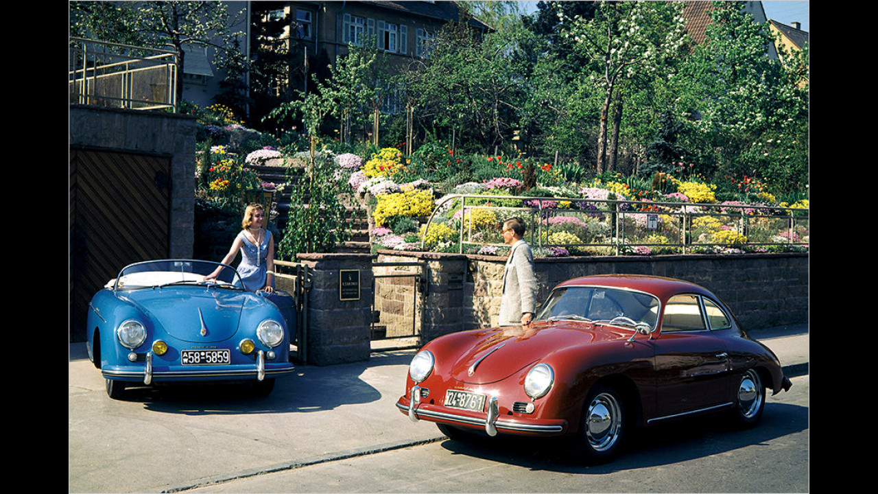 Der Porsche 356 (1948 bis 1965)
