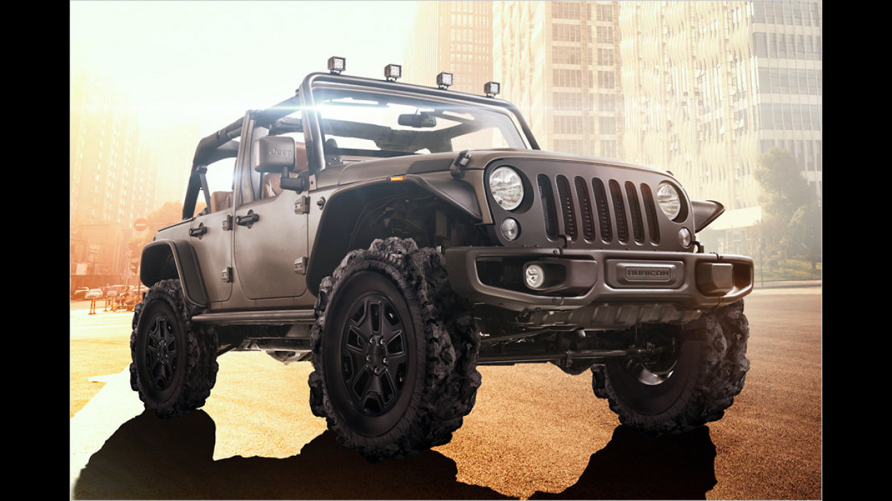 Jeep: Der ,Adventure Tire