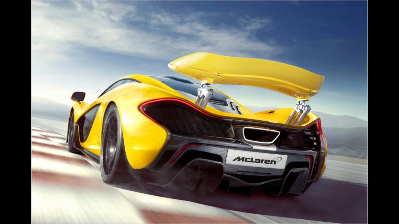 2013: McLaren P1