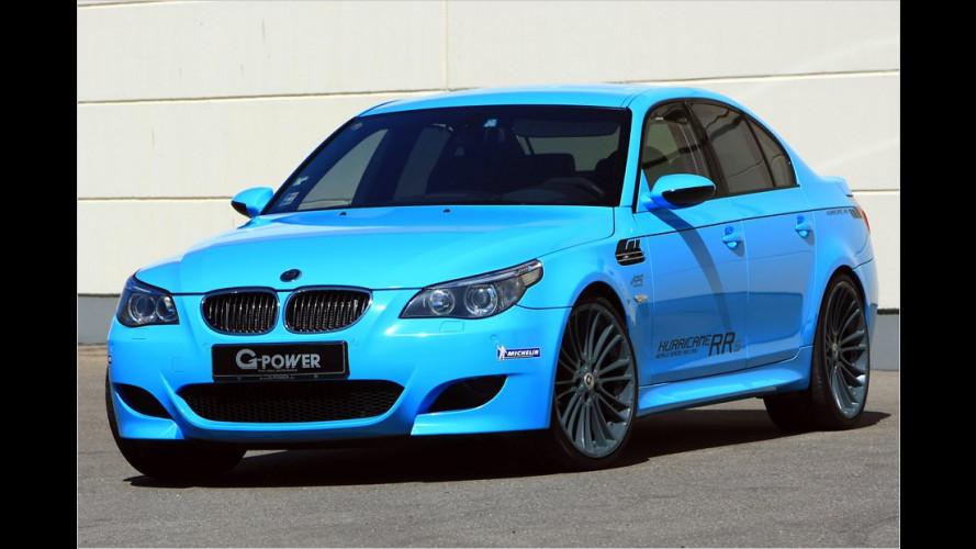 830 PS im BMW M5: Stärkster Hurrikan