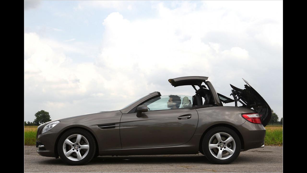 Mercedes SLK (20 Sekunden, nur im Stand)