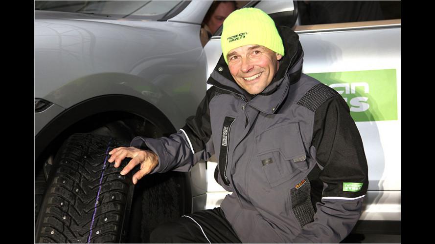 Nokian entwickelt Winterreifen mit ausfahrbaren Spikes