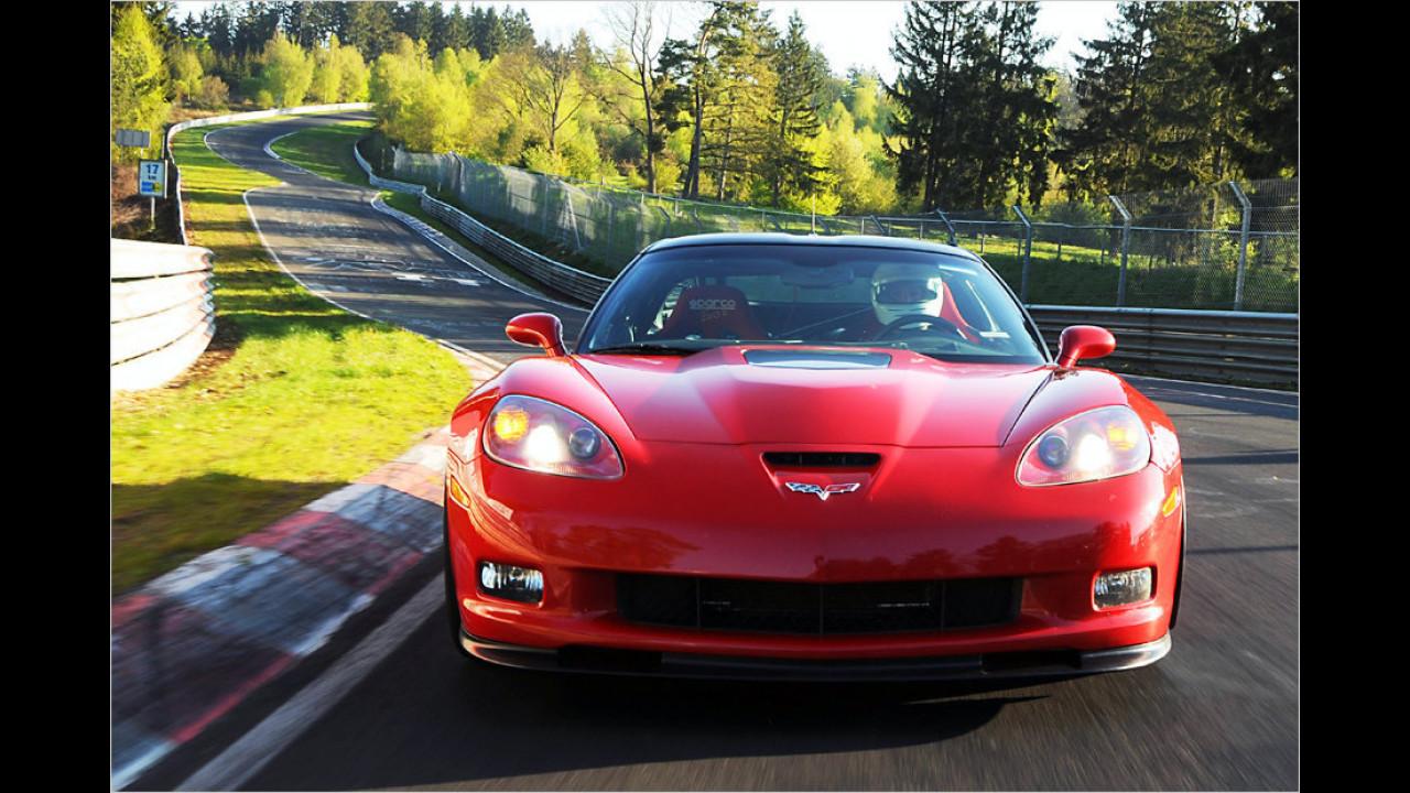 Corvette C6 ZR1: 7:19 Minuten (schnellstes US-Car)